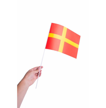 Pappersflagga, Skåne 27x20cm