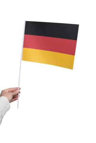 Pappersflagga, Tyskland 27x20cm