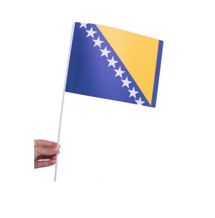 Pappersflagga, Bosnien Hercegovina 27x20cm