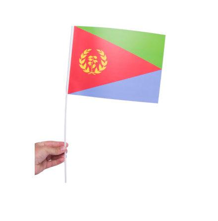 Pappersflagga, Eritrea 27x20cm