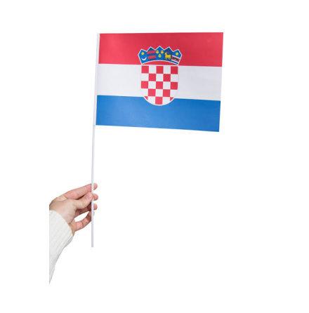 Pappersflagga, Kroatien 27x20cm