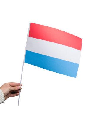 Pappersflagga, Luxemburg 27x20cm