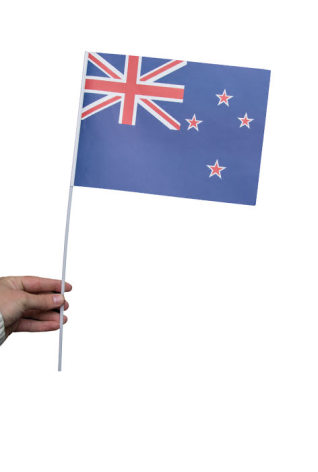 Pappersflagga, Nya Zeeland 27x20cm