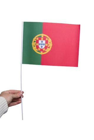 Pappersflagga, Portugal 27x20cm