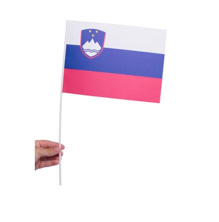 Pappersflagga, Slovenien 27x20cm