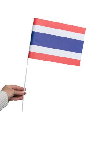 Pappersflagga, Thailand 27x20cm