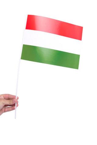 Pappersflagga, Ungern 27x20cm