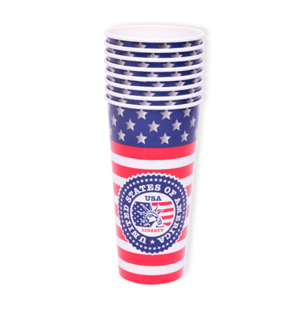 Mugg, USA XL 8st