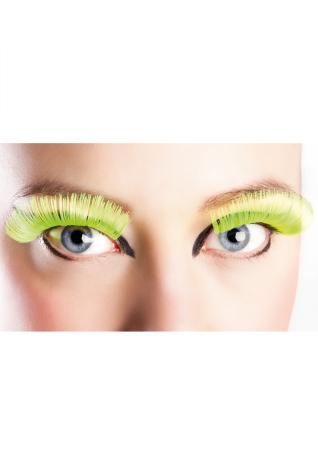 Ögonfransar, XL neongula