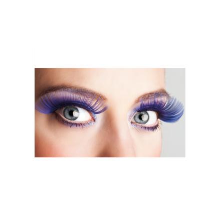 Ögonfransar, XL blå