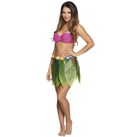 Hawaiikjol, palmblad 40cm