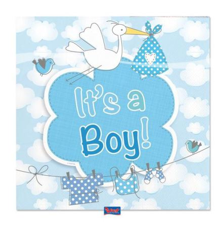Servetter, it's a boy 20st