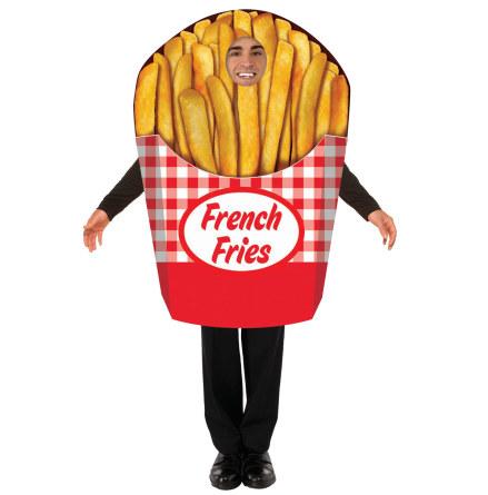 Dräkt, pommes frites
