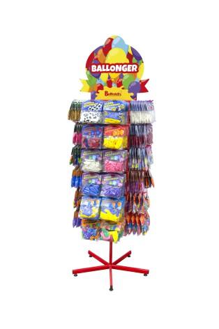 Ballonger - Komplett ställ