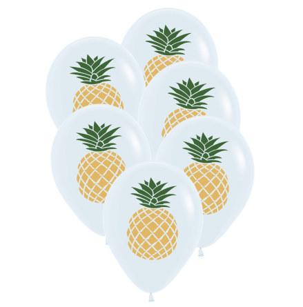 Ballonger, ananas 6st