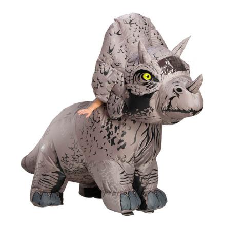 Uppblåsbar, Jurassic World Triceratops