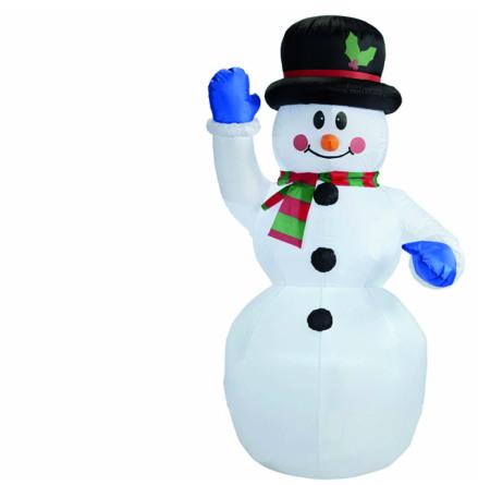 Uppblåsbar, snögubbe 150 cm