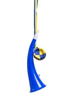 Studenthorn, mössa blå 25 cm