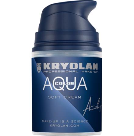 Kryolan AquaColor cream 50 ml guld