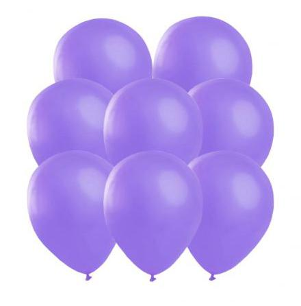 Ballonger, lila 25 st