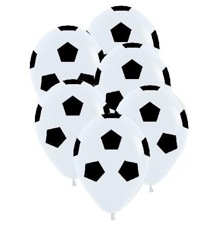 Fotbollsballonger, 6 st