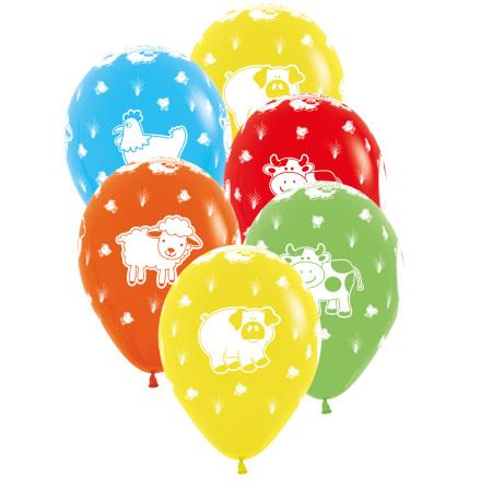 Ballonger Gårdens Djur 6 st