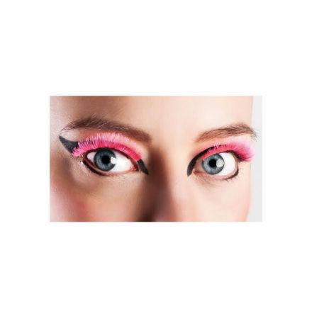 Ögonfransar, basic neon rosa