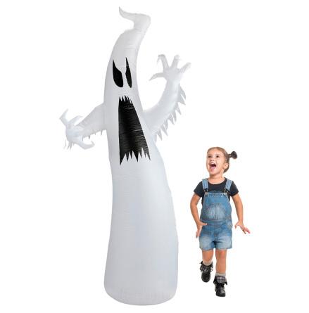Uppblåsbart props, spöke 244 cm