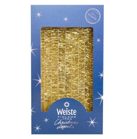 Luciaglitter, guld 25 mm 5 m