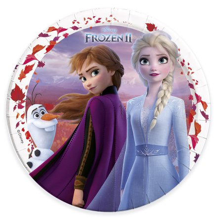 Tallrik, Frozen 2 8 st 23 cm
