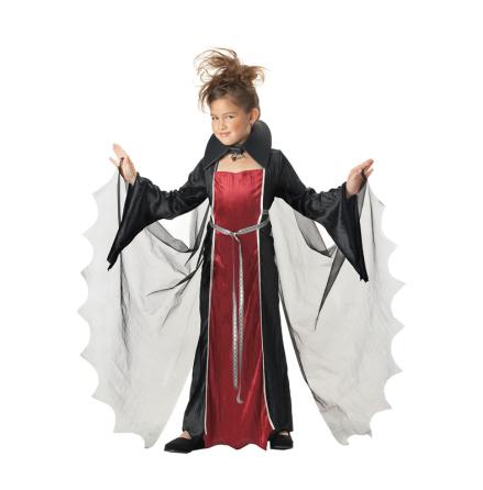 Barndräkt, vampyra 122/128 cl