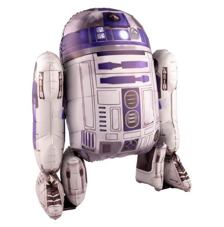 Foliefigur, R2D2 Star Wars 86 x 96 cm