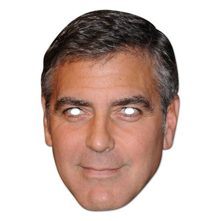 Pappmask, George Clooney