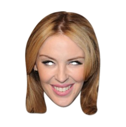 Pappmask, Kylie Minogue