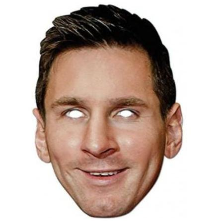 Pappmask, Lionel Messi