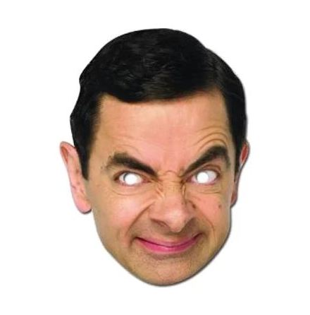 Pappmask, Mr Bean