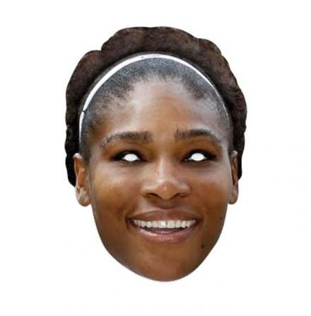 Pappmask, Serena Williams