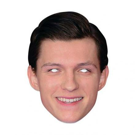Pappmask, Tom Holland