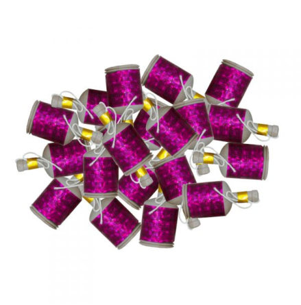 Partypoppers, rosa 20 st