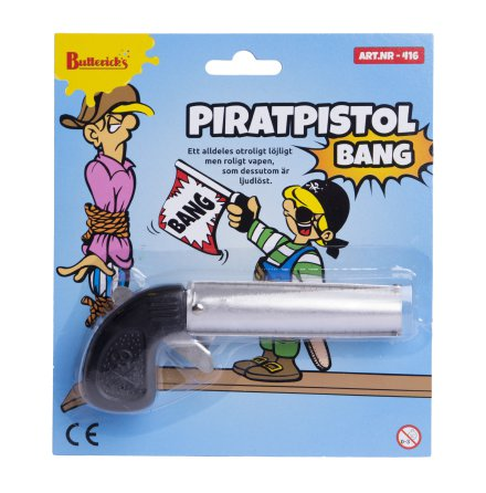 Piratpistol, bang