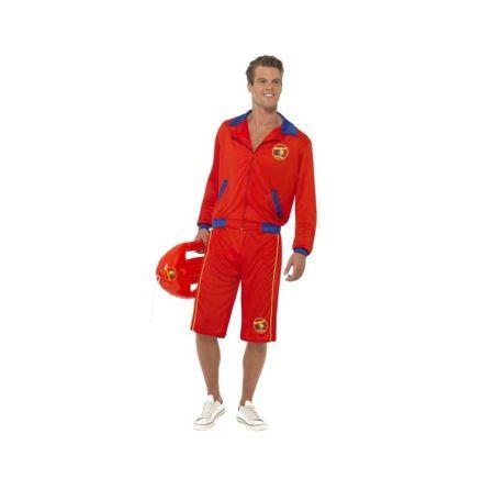 Dräkt, baywatch jacka med shorts L