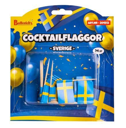 Cocktailflaggor SE, 24 st