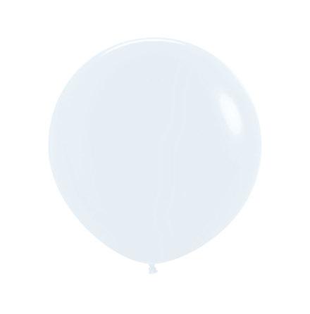 Ballong, jumbo vit 90 cm 1 st