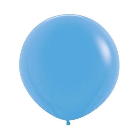 Ballong, jumbo blå 90 cm 1 st