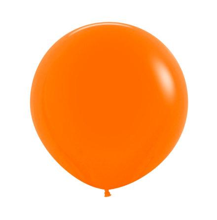 Ballong, jumbo orange 90 cm 1 st