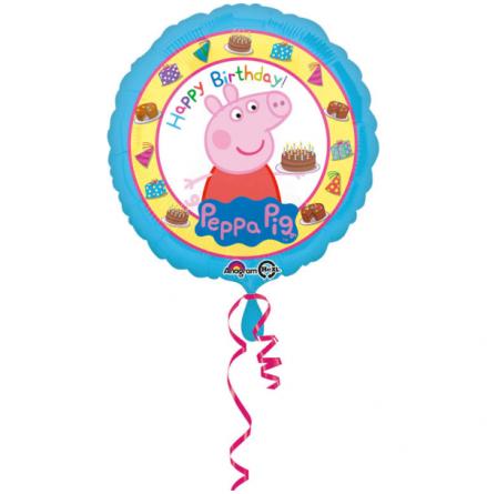 Folieballong, Greta Gris 43 cm