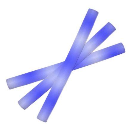 Led skumstavar, blå