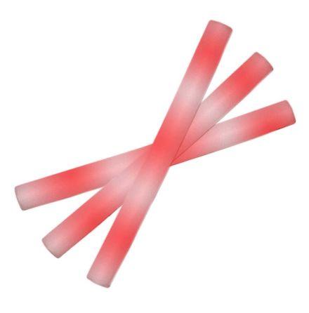 Led skumstavar, röd