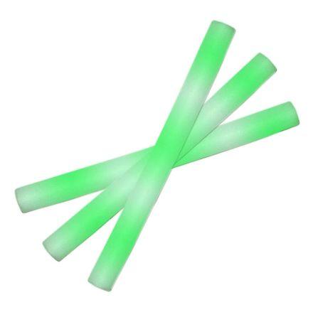 Led skumstavar, grön