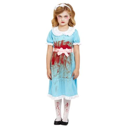 Barndräkt, blodig tvilling 122/128 cl
